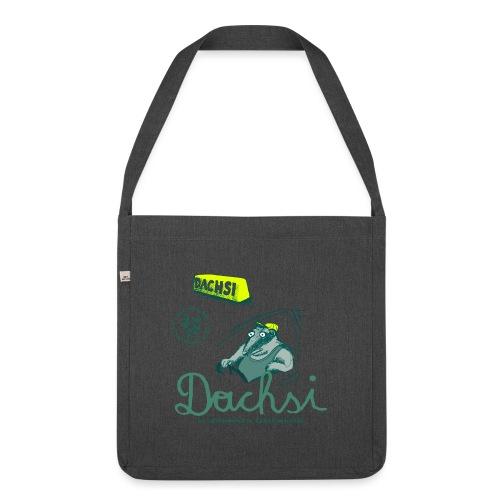 Dachsi !! - Schultertasche aus Recycling-Material