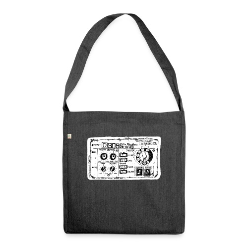 Drum Machine's R Ace! - Shoulder Bag made from recycled material
