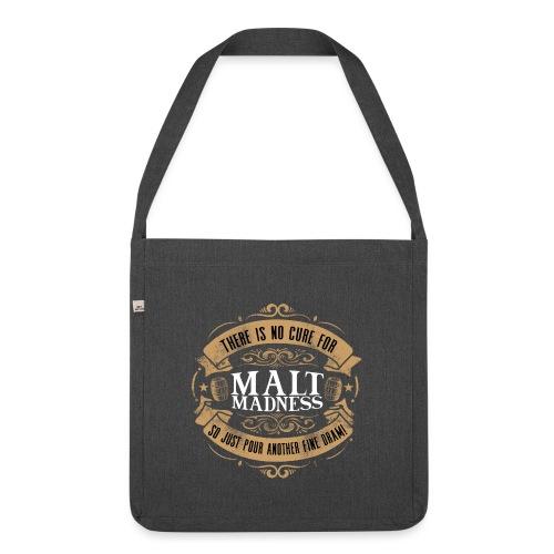 Malt Madness - Schultertasche aus Recycling-Material