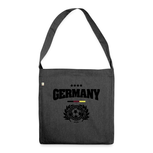 Germany - Supporter of the Mannschaft - Schultertasche aus Recycling-Material