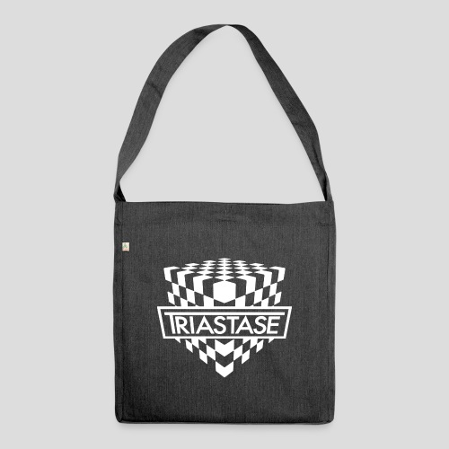Triastase Logo White - Shoulder Bag made from recycled material