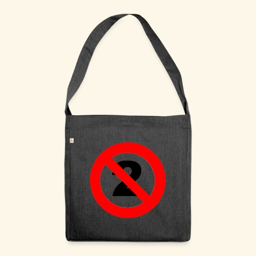 Nondualism - Schultertasche aus Recycling-Material