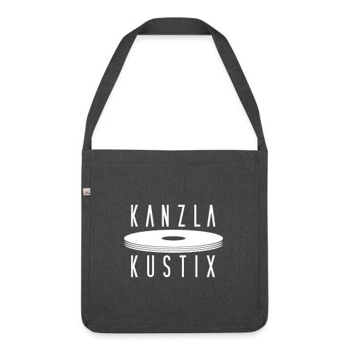 KKX Weiss - Schultertasche aus Recycling-Material