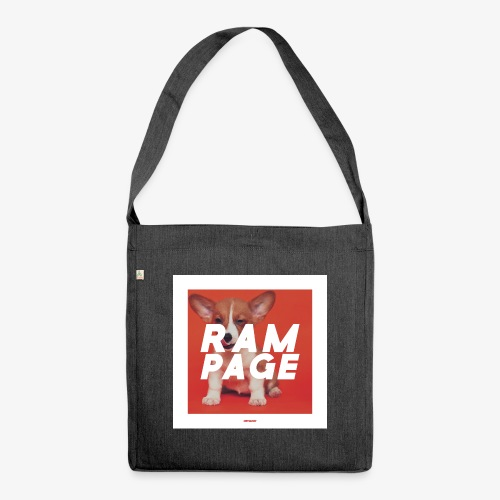 RAMPAGE #01 - Schultertasche aus Recycling-Material