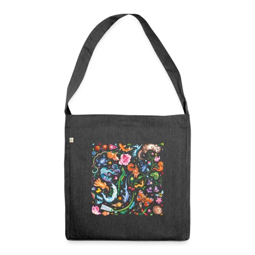 Animals by Maria Tiqwah - Shoulder Bag made from recycled material