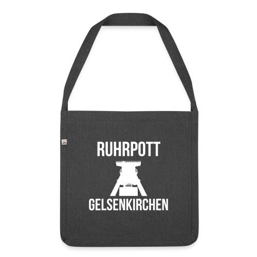 RUHRPOTT GELSENKIRCHEN - Deine Ruhrpott Stadt - Schultertasche aus Recycling-Material