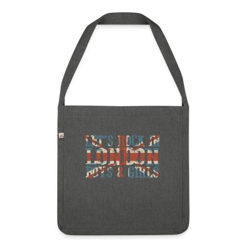LET'S ROCK IN LONDON - Borsa in materiale riciclato
