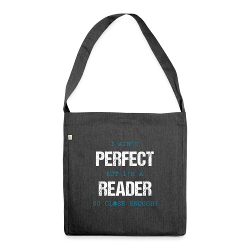 0053 readers are almost perfect! | Book | Read - Shoulder Bag made from recycled material