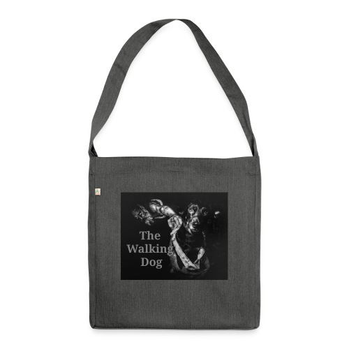 The Walking Dog - Schultertasche aus Recycling-Material