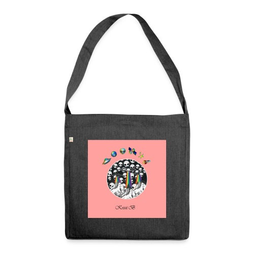 Krisii.B Ufo - Schultertasche aus Recycling-Material