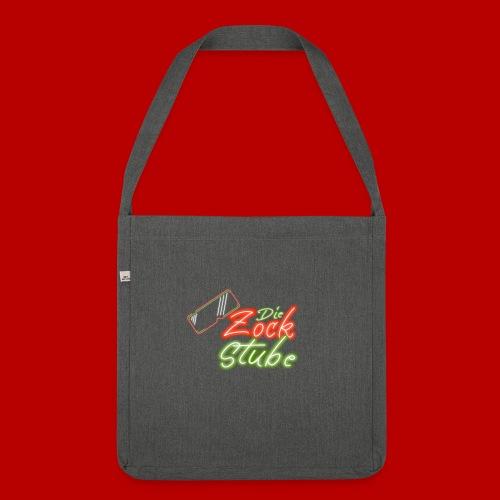 logo quadratisch - Schultertasche aus Recycling-Material