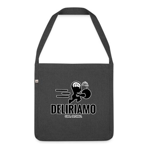 DELIRIAMO CLOTHING BRAINBOMB - Borsa in materiale riciclato