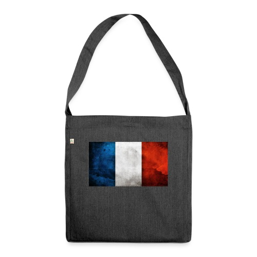 France Flag - Shoulder Bag made from recycled material