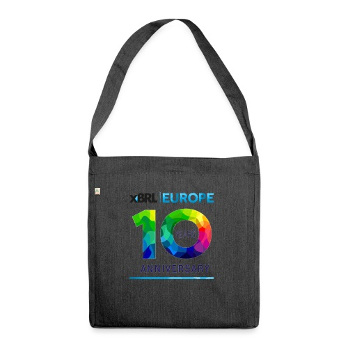 10th anniversary of XBRL Europe - Shoulder Bag made from recycled material