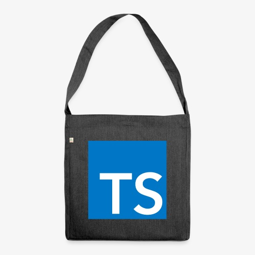 TypeScript Logo - Shoulder Bag made from recycled material