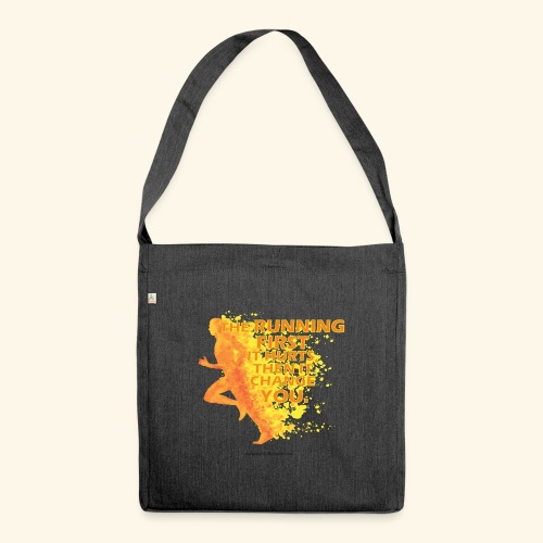 Motivo _ The Running First it Hurts - Borsa in materiale riciclato