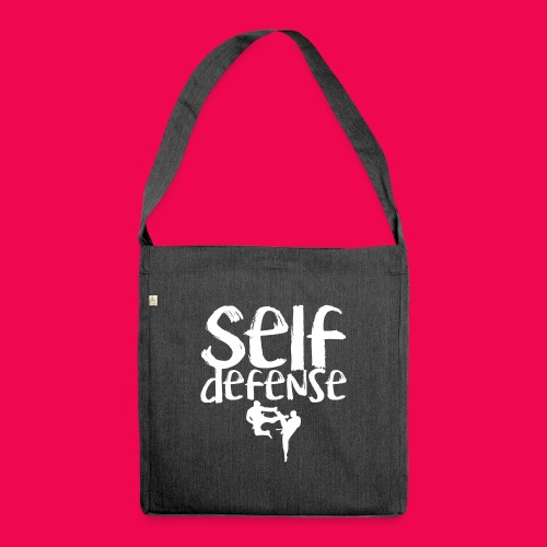 Self Defense 1.0 - Schultertasche aus Recycling-Material