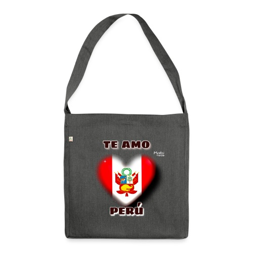 Te Amo Peru Corazon - Shoulder Bag made from recycled material
