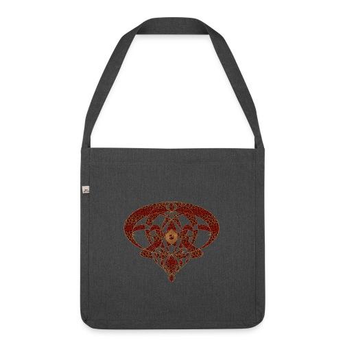 Art Nouveau Art Deco Art Nouveau Vintage Art Gold - Shoulder Bag made from recycled material