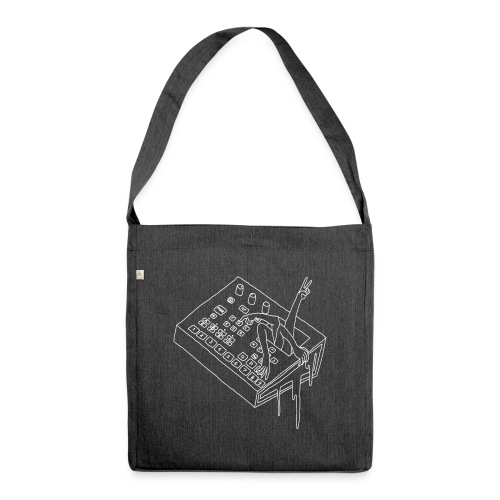 ELECTRONIC REACH - Shoulder Bag made from recycled material