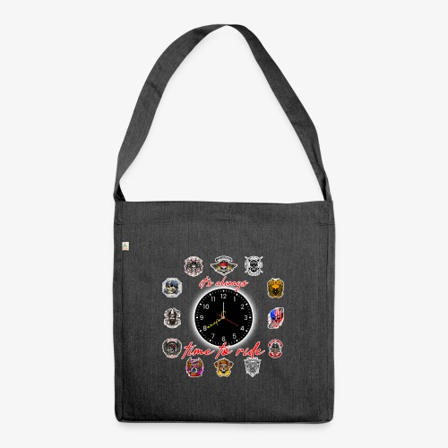 It's always time to ride - Collection - Borsa in materiale riciclato