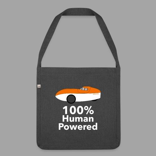 Human Powered WAW - Olkalaukku kierrätysmateriaalista