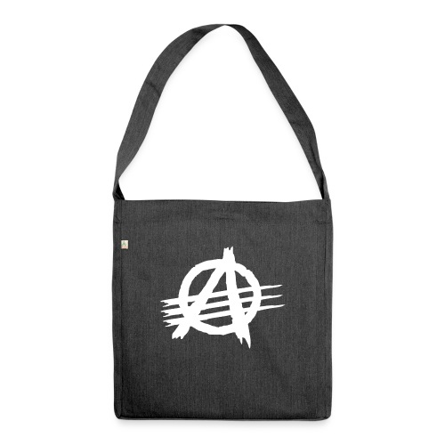 AGaiNST ALL AuTHoRiTieS - Shoulder Bag made from recycled material