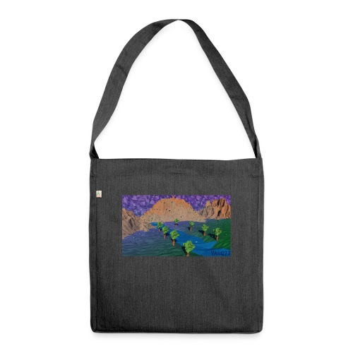 Silent river - Shoulder Bag made from recycled material
