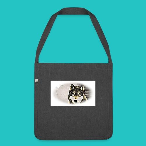Bluza Wilk - Torba na ramię z materiału recyklingowego