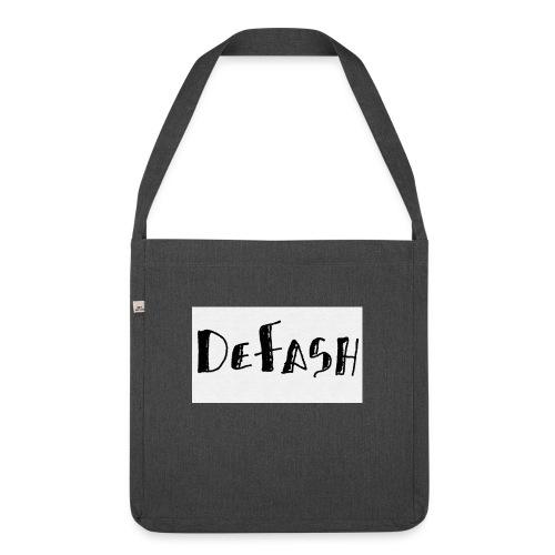 Defash1-png - Sac bandoulière 100 % recyclé