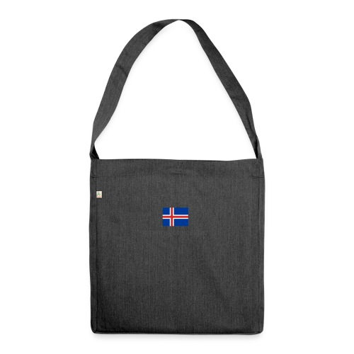 Iceland - Shoulder Bag made from recycled material