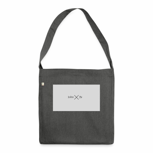 john tv - Shoulder Bag made from recycled material