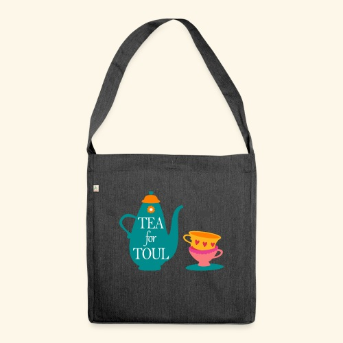 Tea for Toul - Sac bandoulière 100 % recyclé