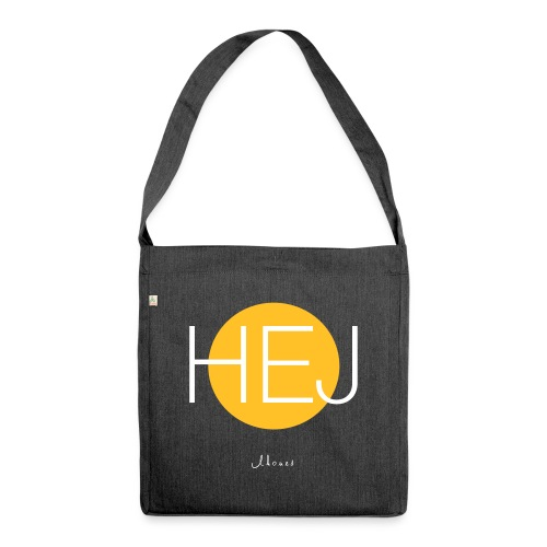 HELLO circle - Shoulder Bag made from recycled material