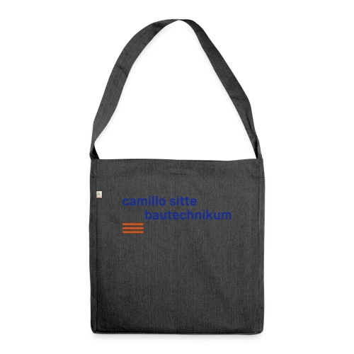 Bags and Cups - Schultertasche aus Recycling-Material