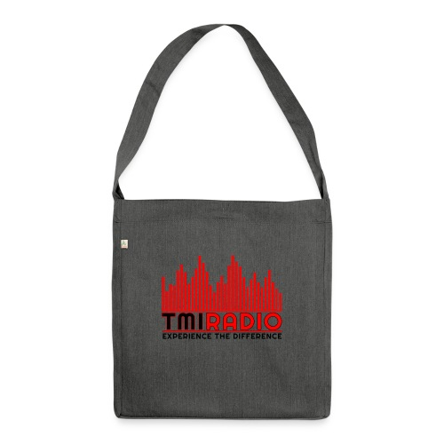 NEW TMI LOGO RED AND BLACK 2000 - Shoulder Bag made from recycled material
