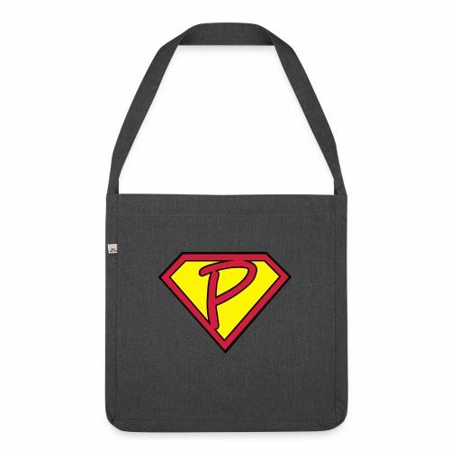 superp 2 - Schultertasche aus Recycling-Material