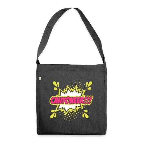 Canyoneer!!! - Schultertasche aus Recycling-Material