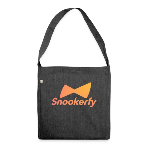 Snookerfy - Shoulder Bag made from recycled material