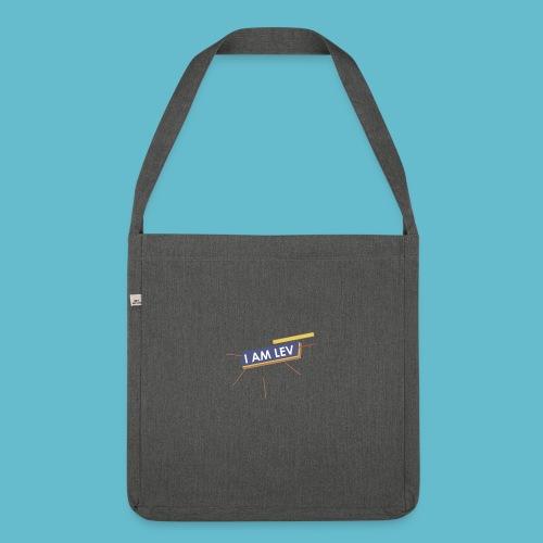 I AM LEV Banner - Schoudertas van gerecycled materiaal