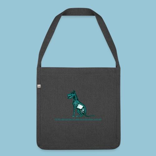 T-shirt pour homme imprimé Chien au Rayon-X - Sac bandoulière 100 % recyclé