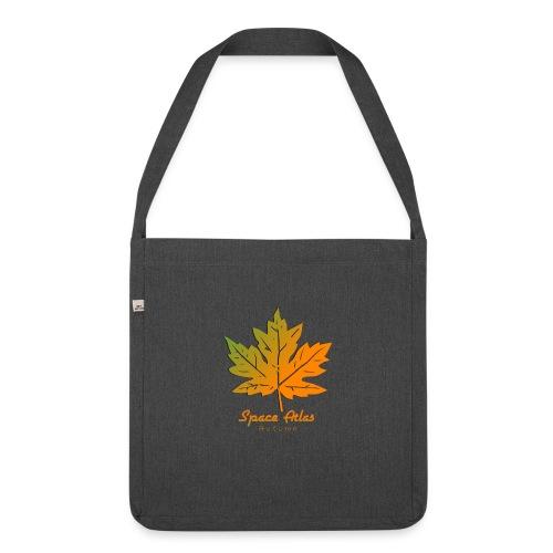 Space Atlas Long Sleeve T-shirt Autumn Leaves - Skuldertaske af recycling-material