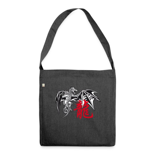 THE YEAR OF THE DRAGON ( - Shoulder Bag made from recycled material