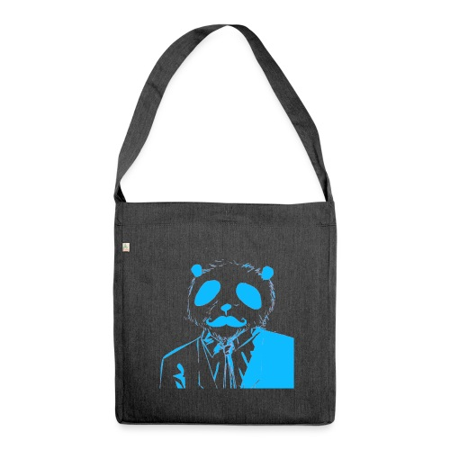 BluePanda Logo - Shoulder Bag made from recycled material