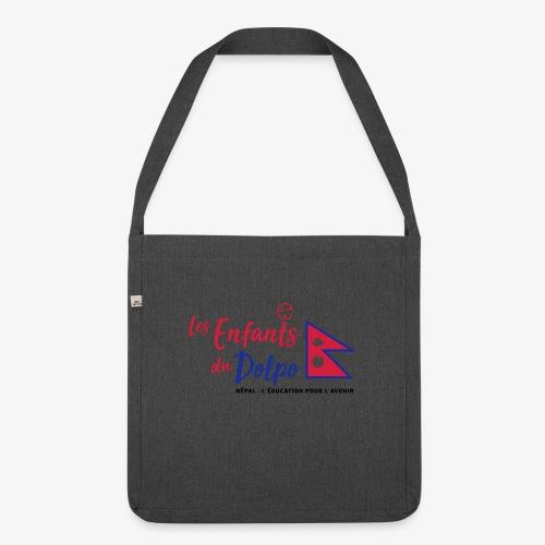 Les Enfants du Doplo - Grand Logo Centré - Sac bandoulière 100 % recyclé