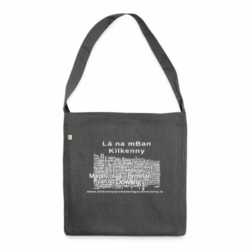 Lá na mban Kilkenny white - Shoulder Bag made from recycled material
