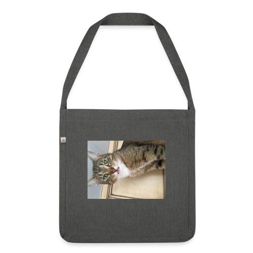 Kotek - Torba na ramię z materiału recyklingowego