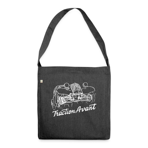 Traction Avant - Shoulder Bag made from recycled material