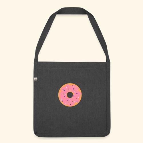 Donut-Shirt - Schultertasche aus Recycling-Material