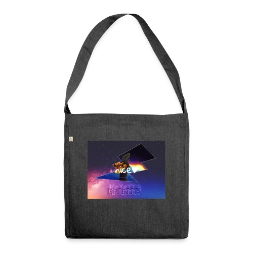 Krisii.B Nice - Schultertasche aus Recycling-Material